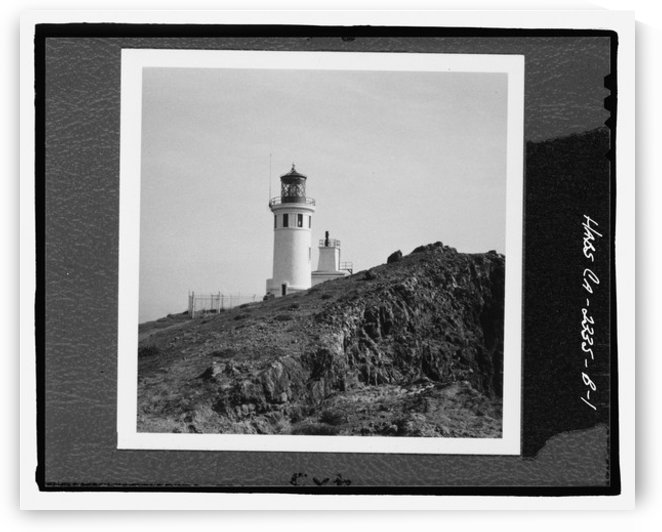 Anacapa Island Light Station, California by Stock Photography