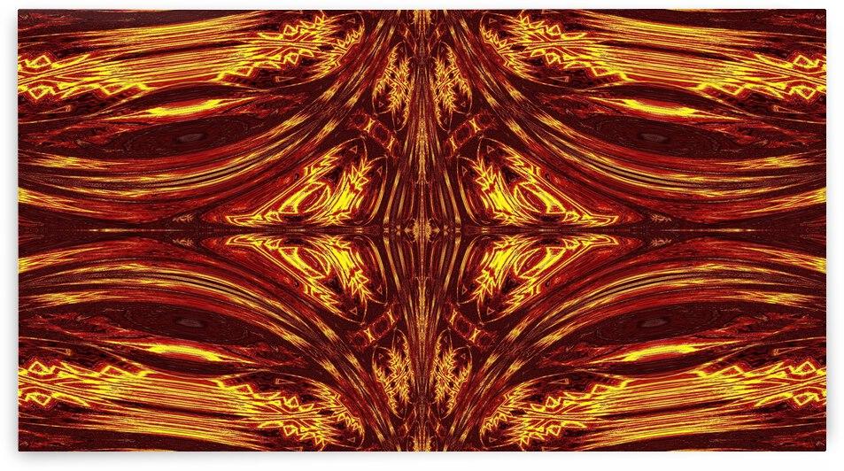 Aztec Sun Fire 51 by Sherrie Larch