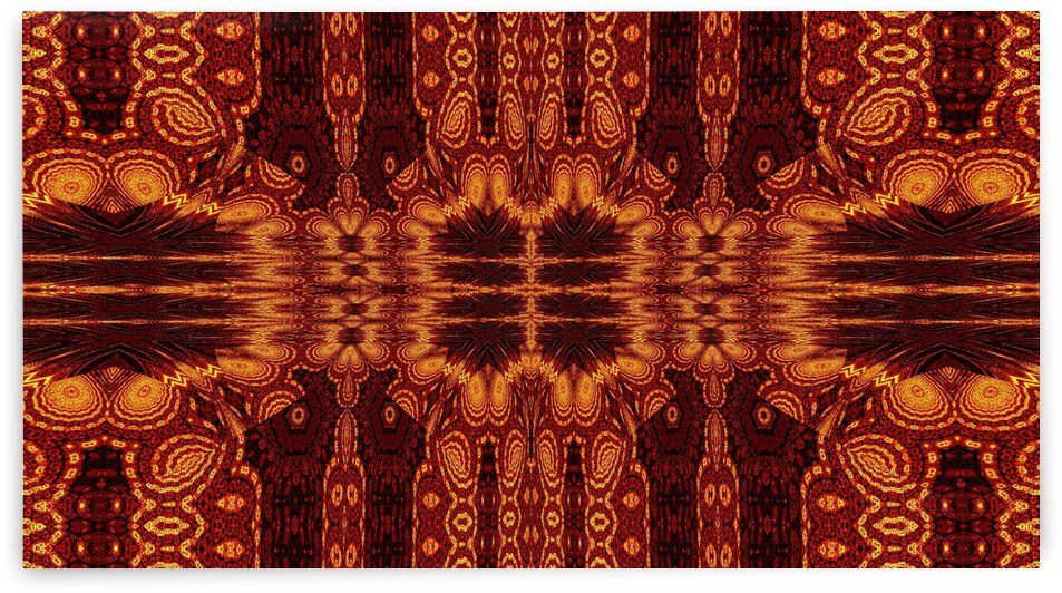 Aztec Sun Fire 62 by Sherrie Larch