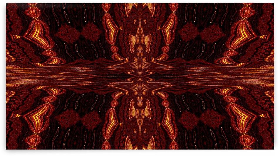 Aztec Sun Fire 63 by Sherrie Larch