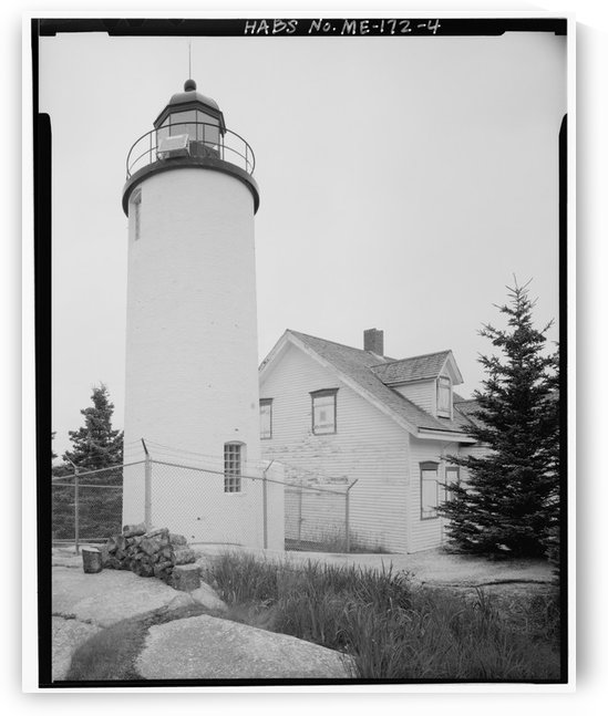 Baker Island Light, Maine by Stock Photography