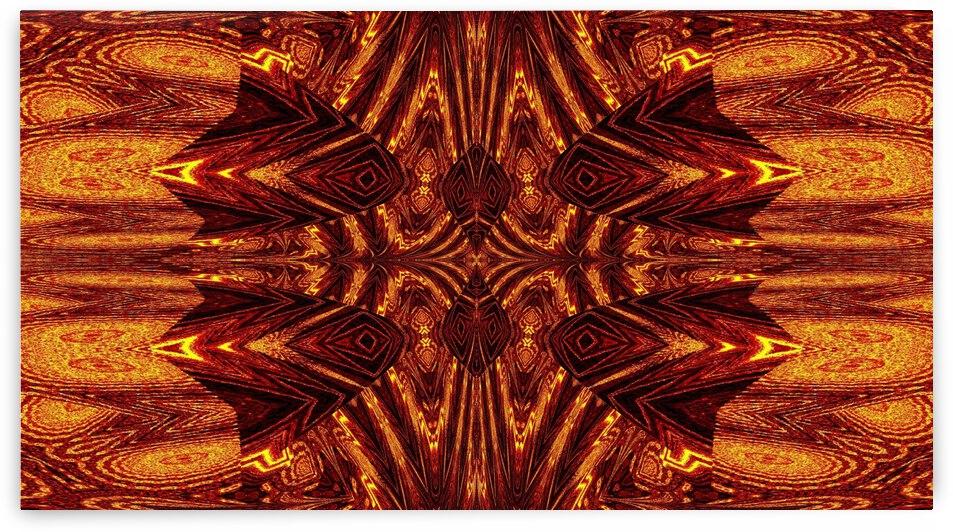 Aztec Sun Fire 66 by Sherrie Larch