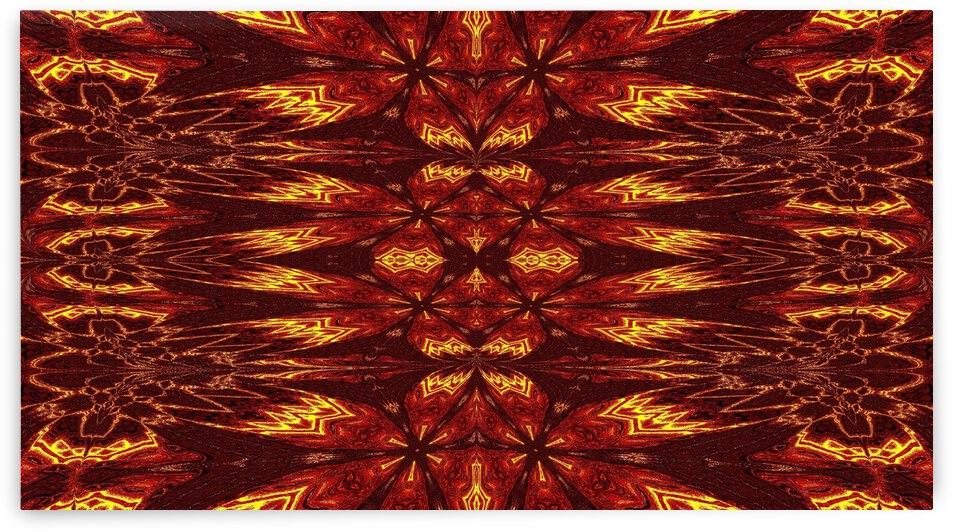 Aztec Sun Fire 67 by Sherrie Larch
