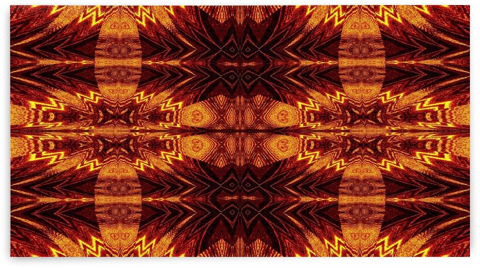 Aztec Sun Fire 70 by Sherrie Larch