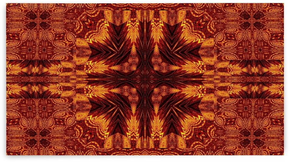 Aztec Sun Fire 72 by Sherrie Larch