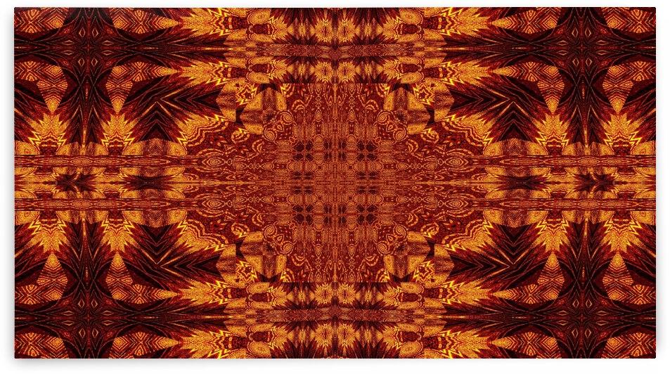 Aztec Sun Fire 73 by Sherrie Larch