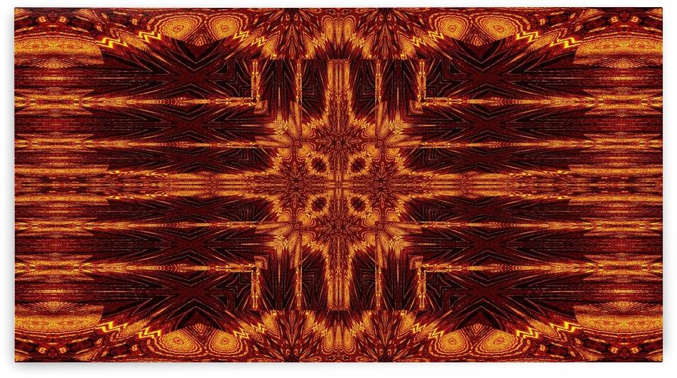 Aztec Sun Fire 80 by Sherrie Larch
