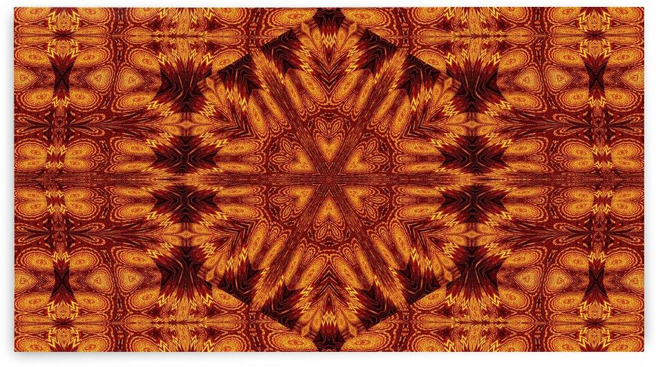 Aztec Sun Fire 92 by Sherrie Larch