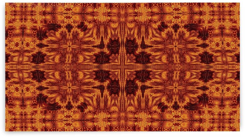 Aztec Sun Fire 96 by Sherrie Larch