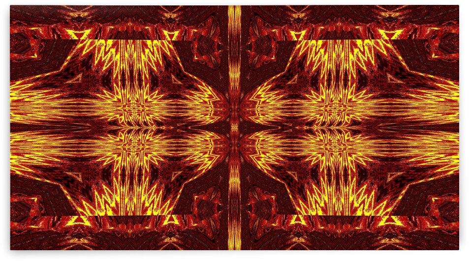 Aztec Sun Fire 99 by Sherrie Larch