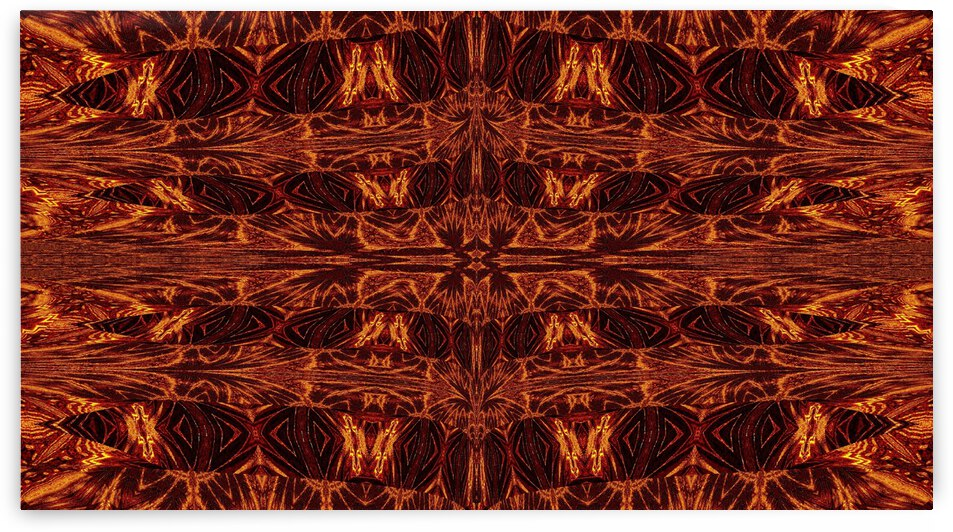 Aztec Sun Fire 119 by Sherrie Larch