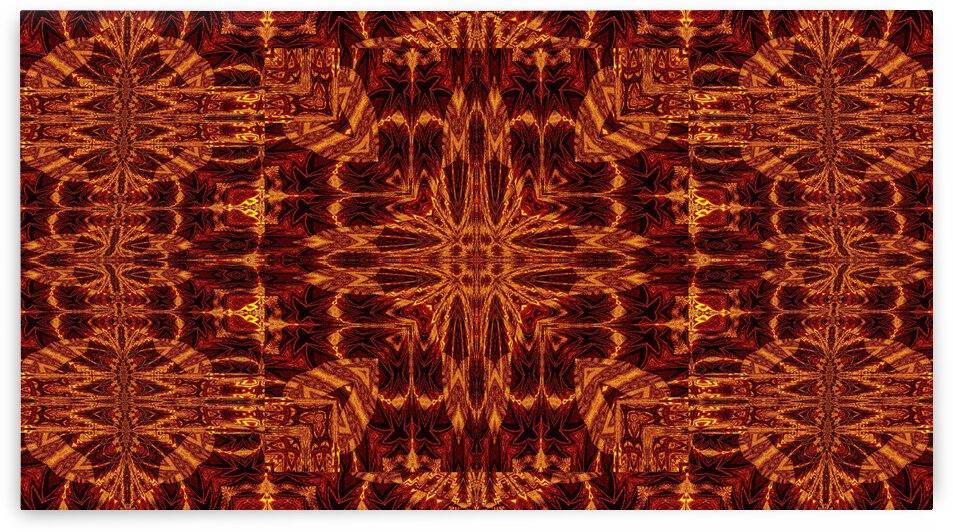 Aztec Sun Fire 123 by Sherrie Larch
