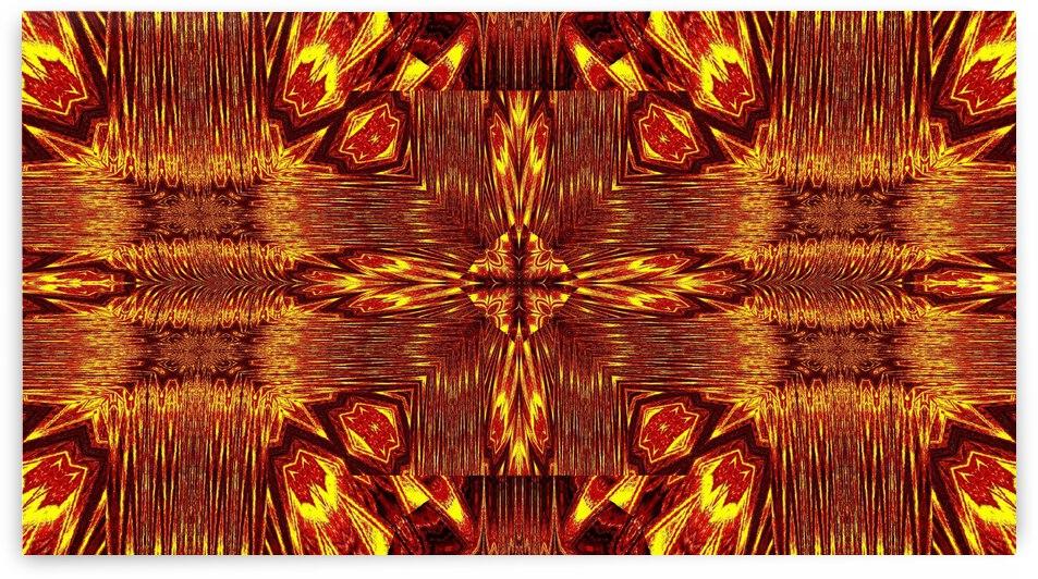 Aztec Sun Fire 131 by Sherrie Larch