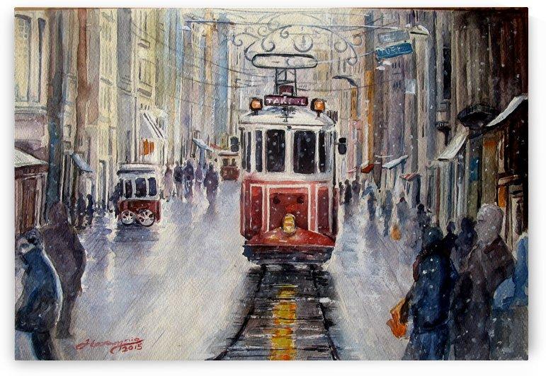 Istanbul by JAMALEDDIN TOOMAJNIA