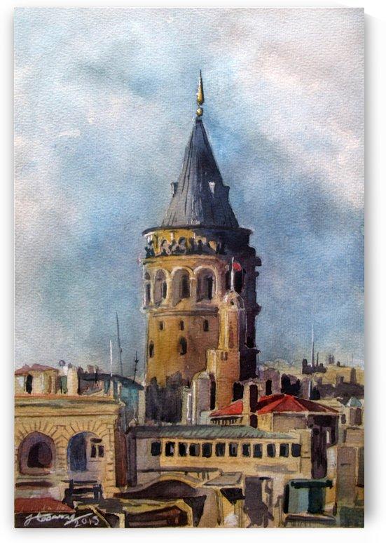 Galata Tower, Istanbul by JAMALEDDIN TOOMAJNIA