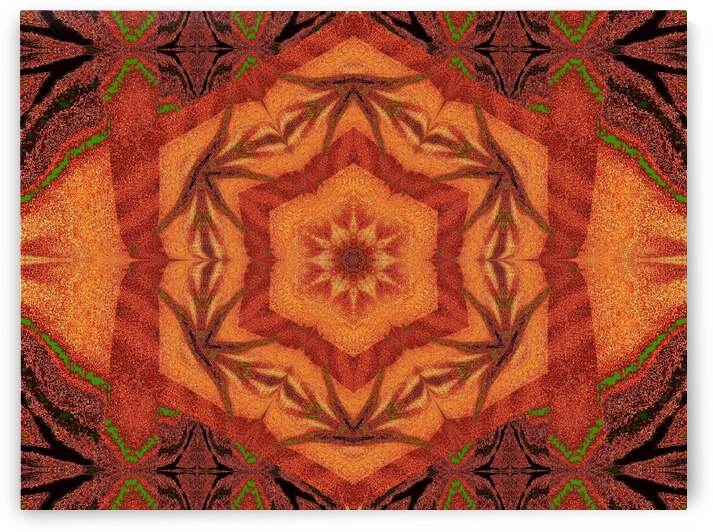Tribal Sand 1 by Sherrie Larch