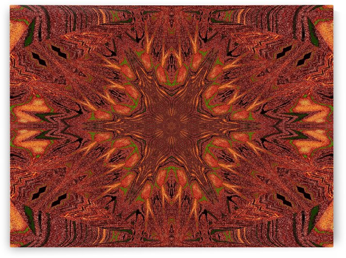 Tribal Sand 10 by Sherrie Larch
