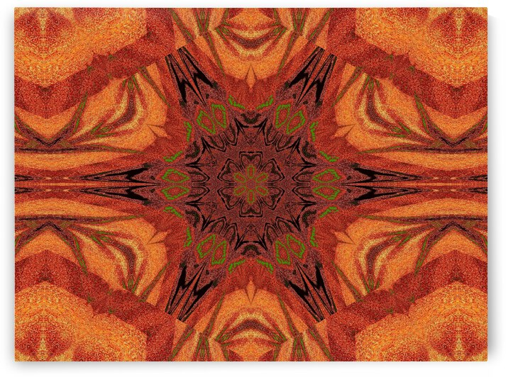 Tribal Sand 11 by Sherrie Larch
