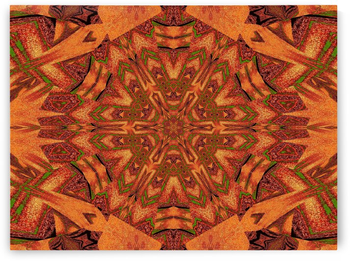Tribal Sand 28 by Sherrie Larch