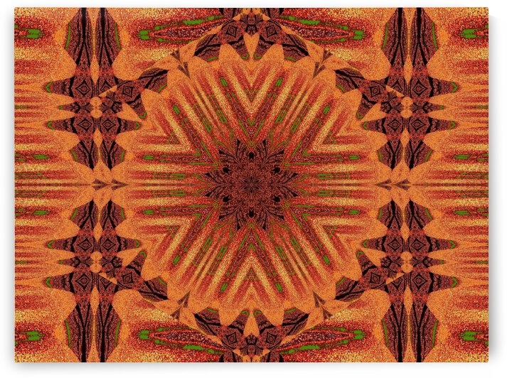 Tribal Sand 40 by Sherrie Larch