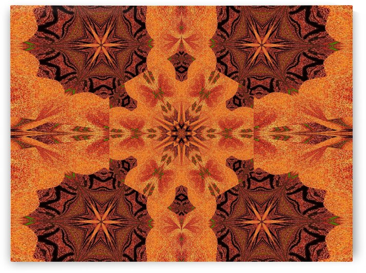 Tribal Sand 54 by Sherrie Larch