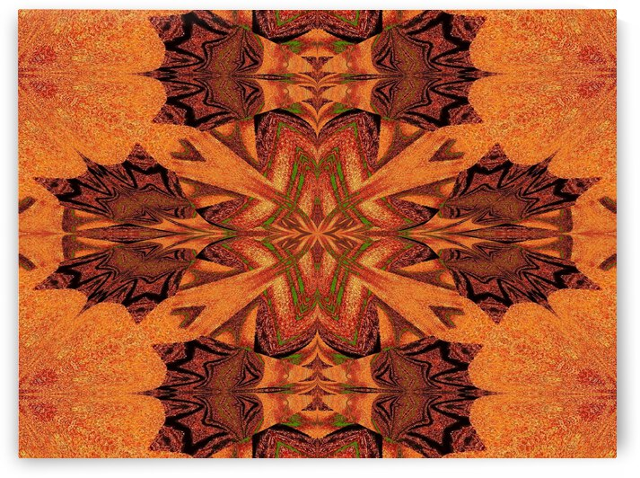 Tribal Sand 56 by Sherrie Larch