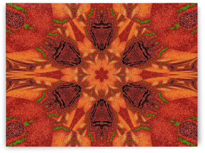 Tribal Sand 58 by Sherrie Larch