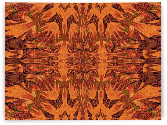 Tribal Sand 78 by Sherrie Larch