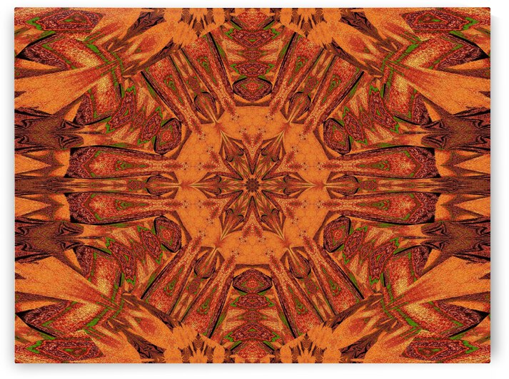 Tribal Sand 79 by Sherrie Larch
