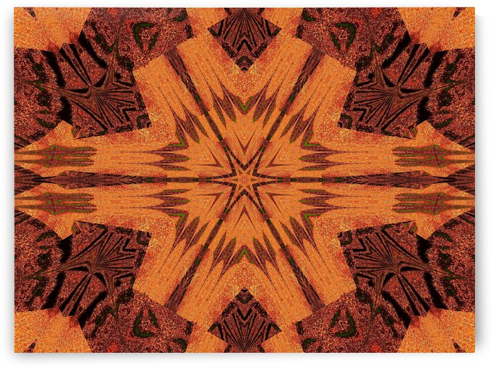 Tribal Sand 114 by Sherrie Larch