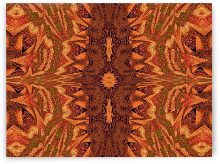 Tribal Sand 125 by Sherrie Larch