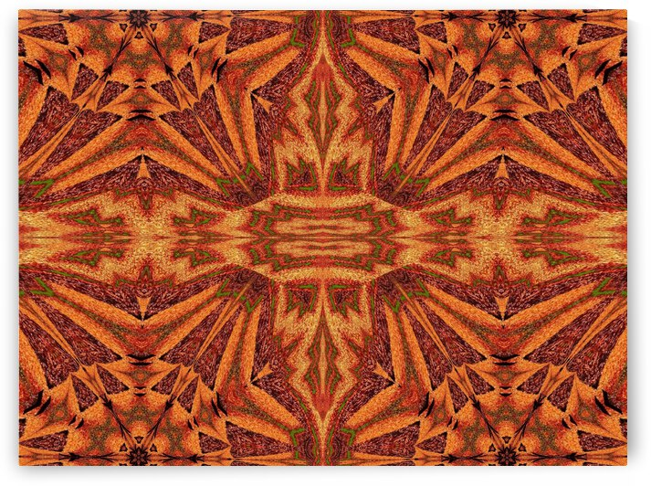 Tribal Sand 143 by Sherrie Larch
