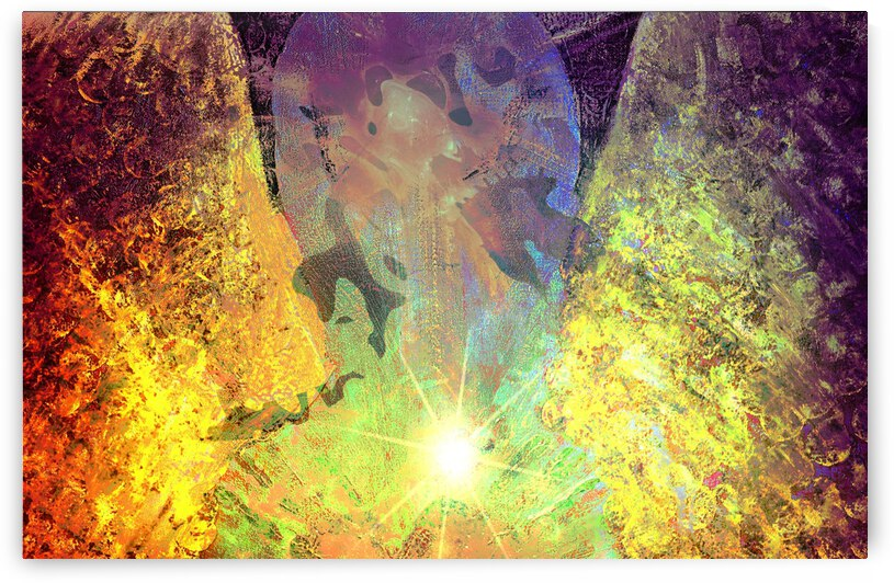 Golden Angel Peace On Earth by Dorothy Berry-Lound