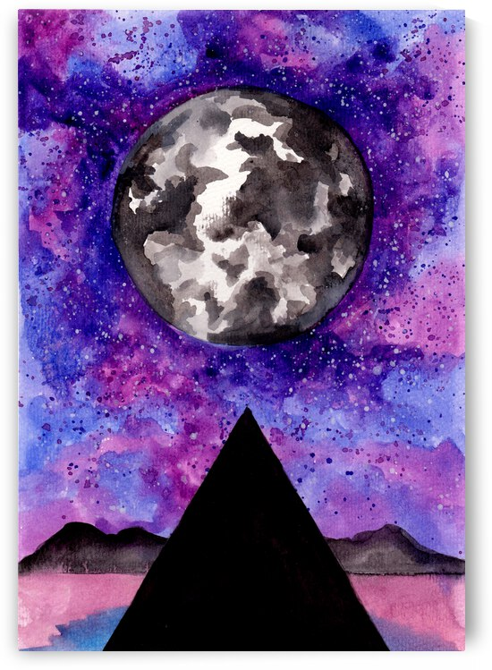 Moon Pyramid by ZeichenbloQ