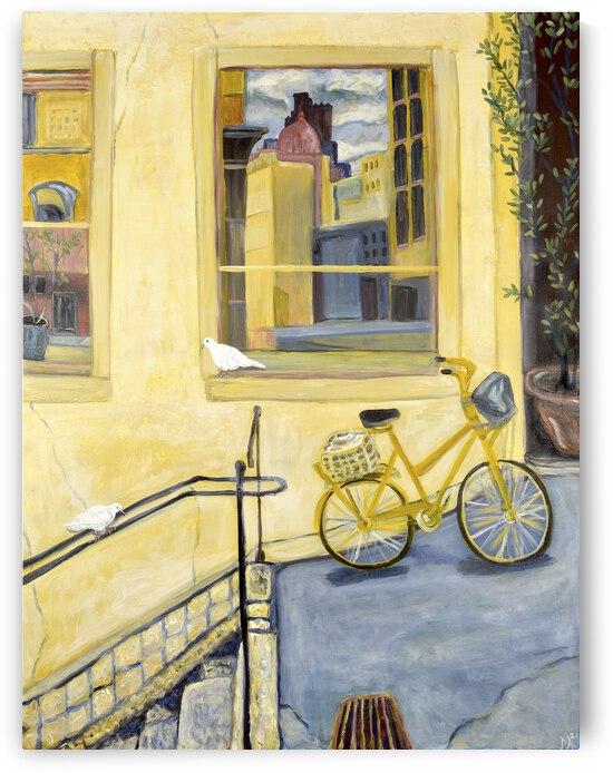 Yellow Bike by Deborah Alastra