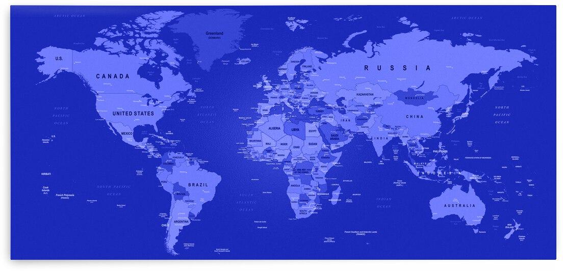 World Map by SamKal