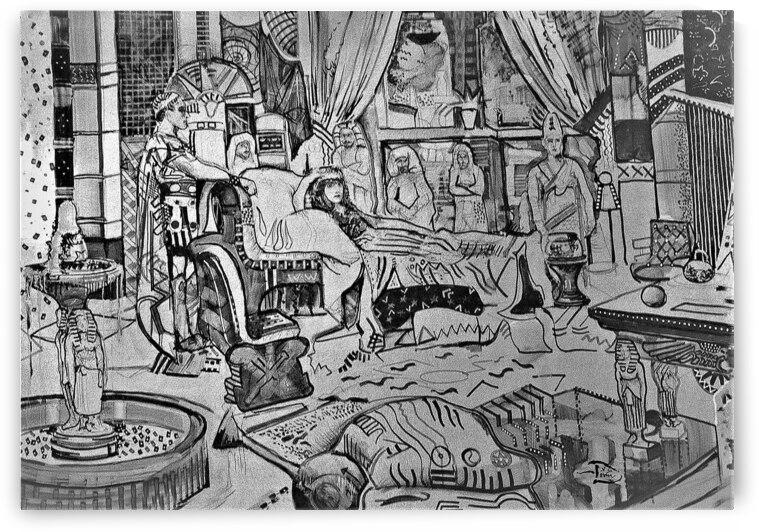 Cleopatra Clartoon by Lowell Phoenix Devin