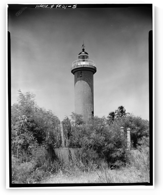 Faro de Punta Higuero, Puerto Rico by Stock Photography