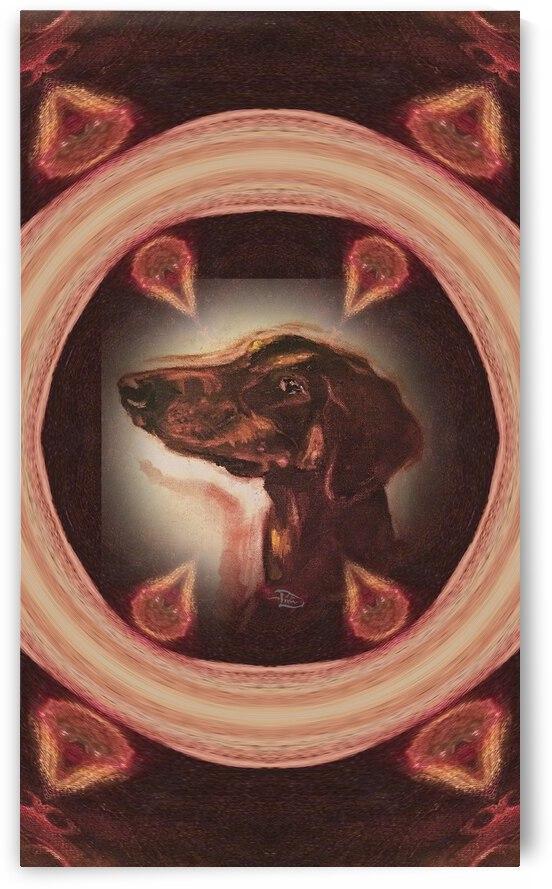 Dober-Dimensional Window by Lowell Phoenix Devin