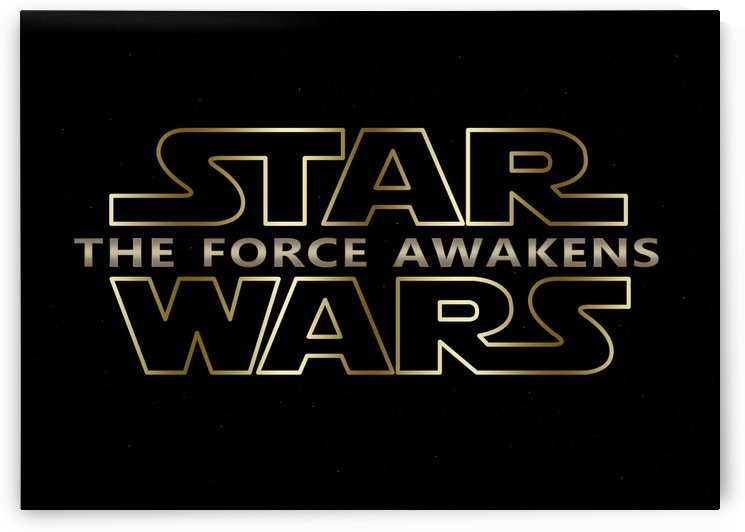 The Force Awakens New Star Wars Series Typography by Georgeta Blanaru
