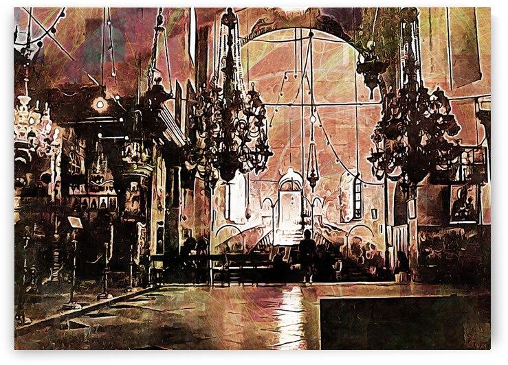 Church of the Nativity Bethlehem by Dorothy Berry-Lound