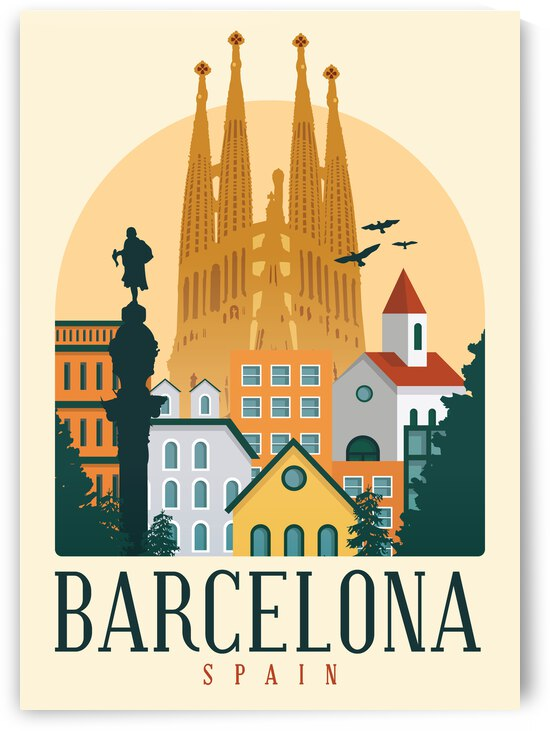 Barcelona by SamKal