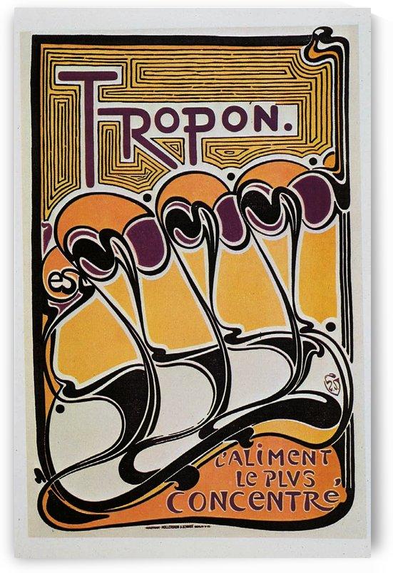 Vintage poster for Tropon food concentrate, 1899 by VINTAGE POSTER