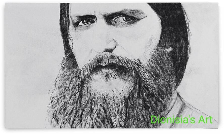 Portrait of Grigorij Rasputin  by Dionisia