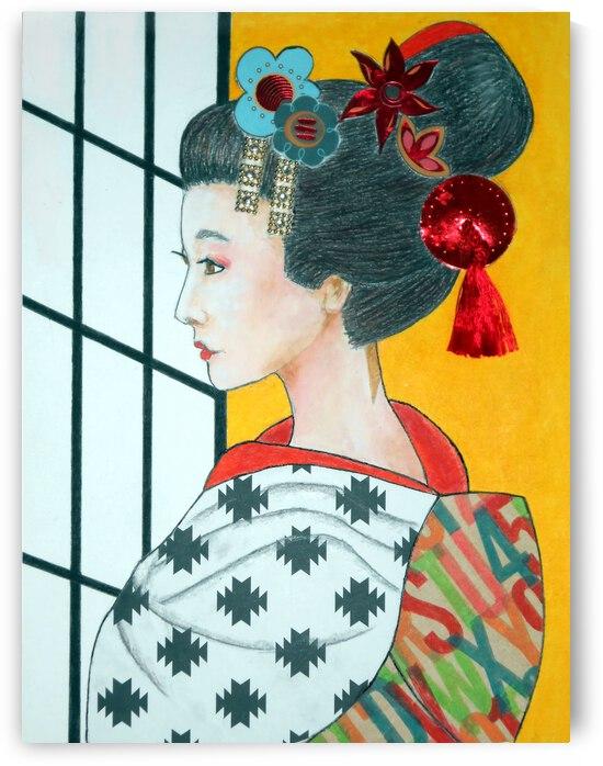 Geisha -- Sachiko by Jayne Somogy