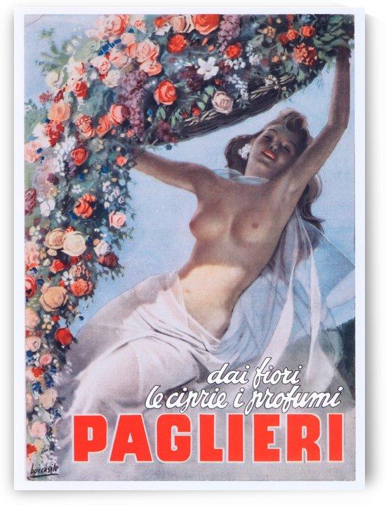 Advertising Poster Dai Fiori Le Ciprie I Profumi Paglieri by VINTAGE POSTER