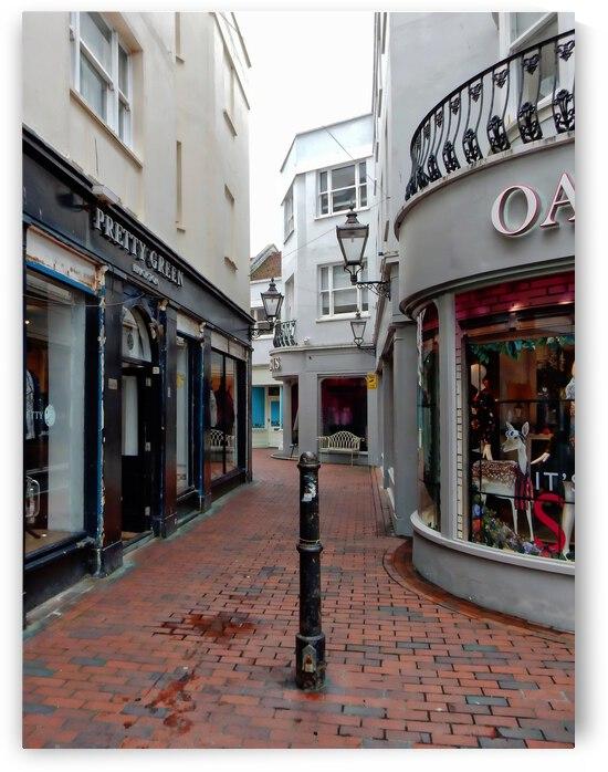 Rear Entrance to Dukes Lane Brighton by Dorothy Berry-Lound