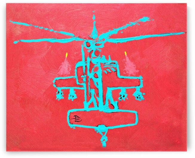 Apacheglyph Cave Art by Lowell Phoenix Devin