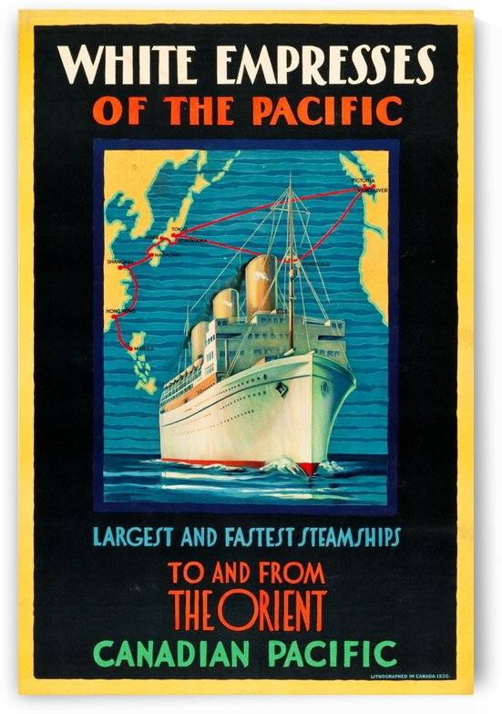 Canadian Pacific Travel Poster by VINTAGE POSTER