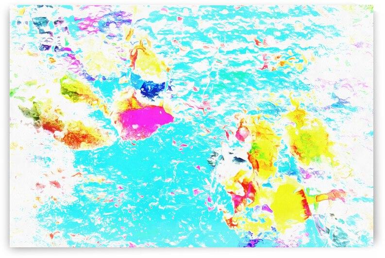 Paw Prints Blue Sky Gazing by Dorothy Berry-Lound